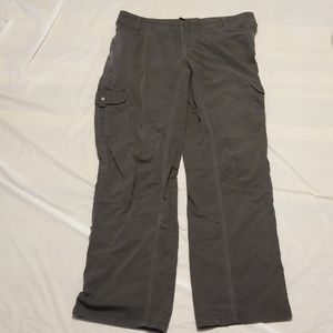 Kuhl women hiking Cargo gray pant size 14 REG